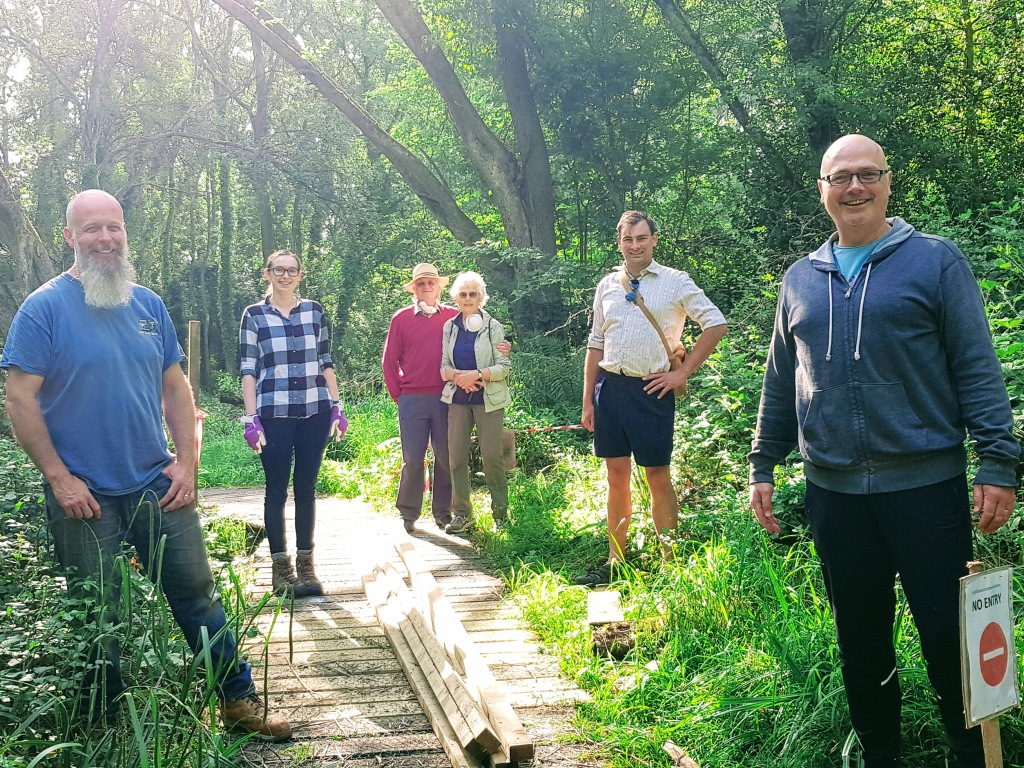 Hinksey heights nature trail volunteers Oxford South Hinksey Botley golf course walking hiking